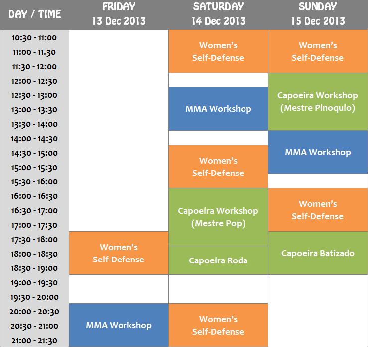FFB schedule