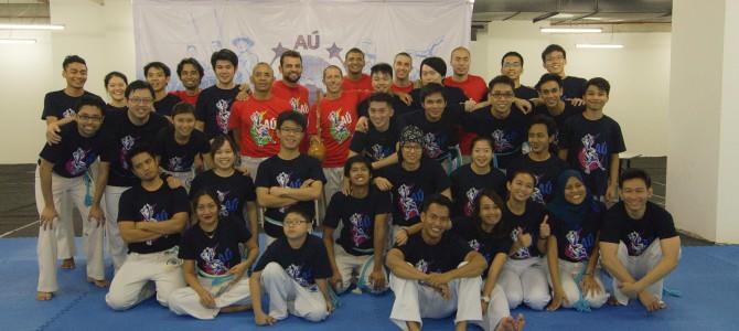 AÚ Capoeira Malaysia – Inaugural Batizado